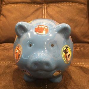 Disney ceramic piggy bank, EUC